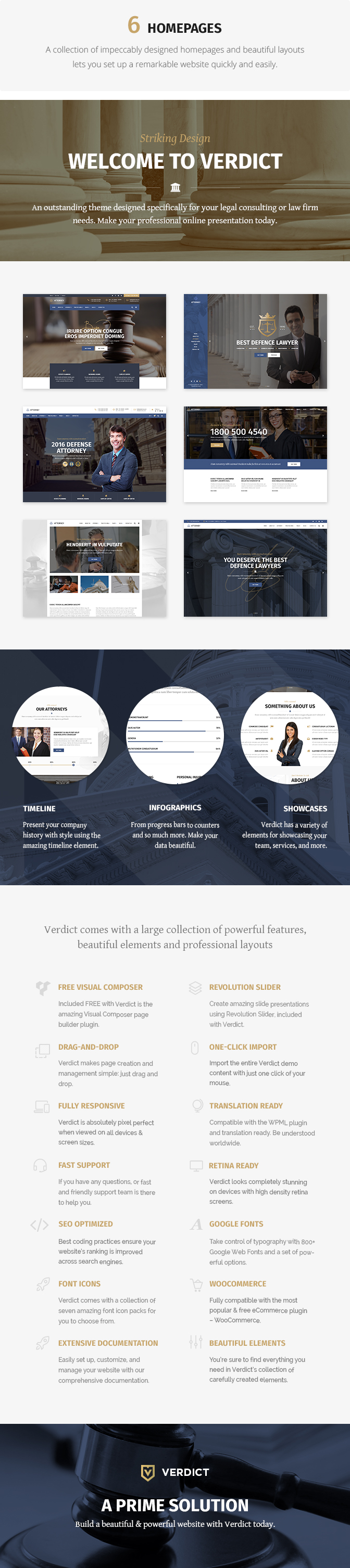 Verdict - Lawyer WordPress Theme - 1